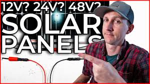 <b>12</b> Volt? <b>24 Volt</b>? 48 Volt? Which <b>Solar Panels</b> for a DIY Camper ...
