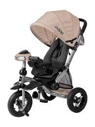 <b>Велосипед</b>-коляска 3кол. Stroller trike 10x10 AIR Car, кофе <b>Moby</b> ...