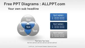 free powerpoint diagrams design    venn diagrams relationship ppt diagrams