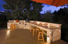 patio outdoor stone kitchen bar: stone patio bar outdoor kitchen ideas amp designs picture gallery designing idea