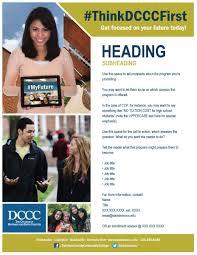 marketing toolbox davidson county community college esl flyer