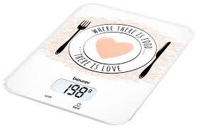 Купить Кухонные <b>весы Beurer KS 19</b> Love по низкой цене с ...