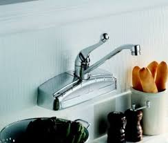 kitchen faucets wall mount: vintage style wall mount kitchen faucet
