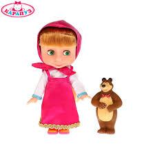 """<b>Кукла</b> """"<b>КАРАПУЗ</b>"""" <b>Маша</b> 25см (м/ф """"Маша и Медведь""""), с мишкой ..."""