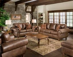 sofa chair living room harness brown contemporary faux leather living room by ashley