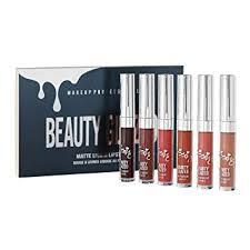 Beauty Glazed 6 Colors Matte Velvety Liquid Lipstick ... - Amazon.com