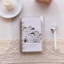 <b>SIXONE 50 Sheets</b> Cartoon Rogue Dog Loose Leaf Notebook Inner ...