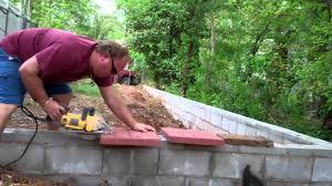 flagstone patio brick borders building a brick bench finishing a stone patio and brick border projec