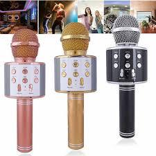 KTV- <b>WS858 Wireless Karaoke Handheld Microphone</b> USB Player ...