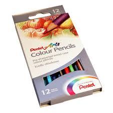 Набор <b>цветных карандашей Pentel Colour Pencils</b> 12 цветов в ...