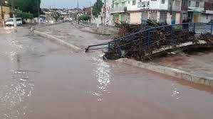 Canal do Rio Granjeiro transborda e causa transtornos no Crato-CE