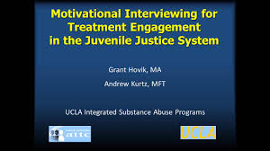 motivational interviewing for consumers co occurring motivational interviewing for consumers co occurring disorders in the juvenile justice system