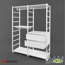 3d модели: Шкафы - <b>Икеа Элварли</b> | <b>Ikea Elvarli</b>