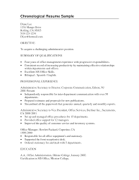 chronological resume sample resumes design 2016 tag chronological resume sample college student