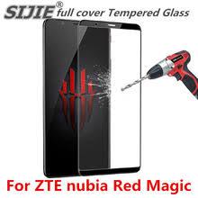 Полное покрытие закаленное Стекло для zte nubia <b>Red</b> Magic ...