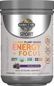 Garden of Life SPORT Organic Plant-Based Energy + ... - Amazon.com