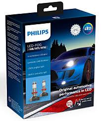 <b>Philips X</b>-<b>tremeUltinon</b> LED H11 / H8 / H16 gen 2 (+250%) 5800K (2 ...