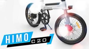 Электровелосипед Xiaomi <b>Himo</b> С20 <b>Electric</b> Power - YouTube
