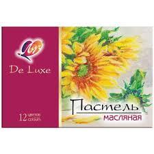 <b>Пастель масляная Луч Люкс</b> 12 цветов – выгодная цена – купить ...