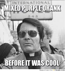mixed purple drank... - Meme Generator Captionator via Relatably.com