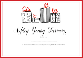 mollywoodfield i am a young and enthusiastic junior graphic for my local young farmers club i have been asked by the current secretary to design their annual christmas meal invites and menu