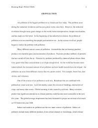 essay environment pollution NourElec Essay on Trees in Hindi