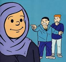 Image result for islamophobia cartoon