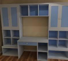 canterbury storage wall unit desk bespoke wall storage