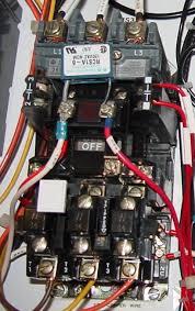contactors electromechanical relays electronics textbook contactors