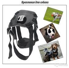 <b>Аксессуар Крепление на</b> камеру GoPro для собаки купить в ...