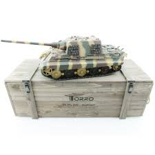 Купить <b>Радиоуправляемый танк Torro</b> Jagdtiger (Metal Edition) 1 ...