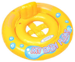 <b>Надувной круг Intex My</b> Baby Float 59574 — купить по выгодной ...