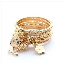 <b>Ring</b> R 14I SET goldplated set of rings | ジュエリー, アクセサリー