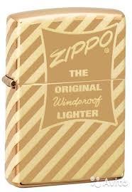 <b>Зажигалка</b> Zippo - <b>Vintage</b> Zippo <b>Box Top</b> купить в Москве с ...