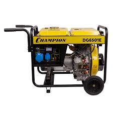 <b>Генератор дизельный Champion</b> DG 6501 E 80317 | Купите по ...