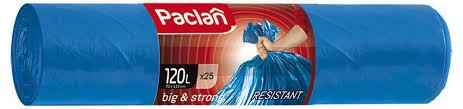 <b>Пакеты для мусора</b> «Big&Strong» <b>Paclan</b>, 120 л, 25 шт - купить по ...