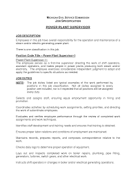 cover letter plant manager job description cheese plant manager cover letter best photos of plant manager job description sample power operator resume samplesplant manager job