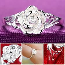Модное <b>серебряное кольцо</b> в виде цветка розы, этническое ...