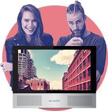 Купить в России вызывные <b>панели Slinex</b> для квартиры и офиса