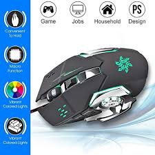 Microware <b>G815 Gaming Mouse 3200DPI</b> 6 Buttons LED Backlight ...