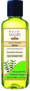 Khadi Neem <b>Face</b> Wash - <b>Anti Acne</b> Cleanser - <b>Herbal</b> & Ayurvedic