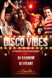 disco vibes party flyer template com disco vibes party flyer template