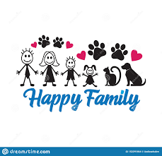 <b>Happy Family</b> Inspiring Funny Quote Vector Graphic Design For ...
