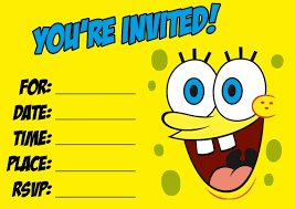 Spongebob Kids Birthday Invitations Template - Invitations Ideas Spongebob Kids Birthday Invitations Template - <p>Well-known Birthday Occasion Invites I