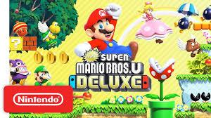 <b>New Super Mario Bros</b>. U Deluxe - Launch Trailer - Nintendo Switch ...