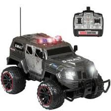 <b>1/12 Remote Control</b> Police Truck – Best Choice Products