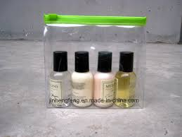 China Recycled Clear Makeup Bags <b>Waterproof PVC Cosmetic</b> Bag ...