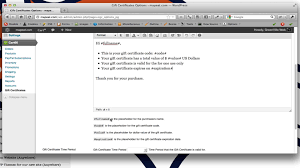 cart gift certificate wordpress plugin setup video cart66 gift certificate wordpress plugin setup video