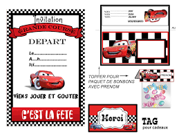 disney cars lightning mcqueen matter printable banner pennants invite treat topper and tag