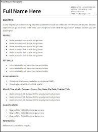 online job resume template template online job resume template professional resume formatting